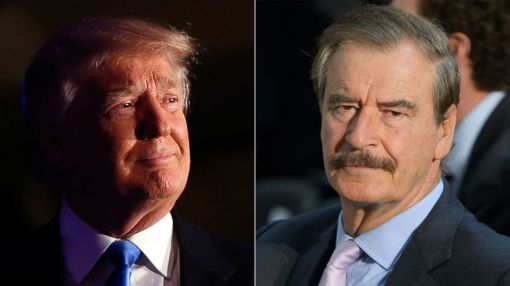 Donald Trump and Mexico's Former President Vicente Fox Spar on Twitter Before Visit