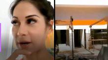 """Mayra Cardi mostra evolução da reforma na nova casa: """"Cadê o piso?"""""""