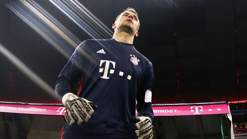 Neuer no estaría disponible ante el Real Madrid