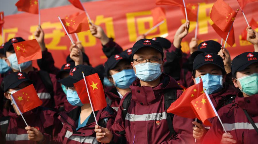 China says no new deaths in coronavirus milestone