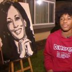 Kamala Harris called teen to thank him for viral portrait