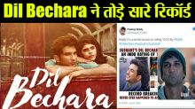 Sushant Singh Rajput's last film Dil Bechara breaks all record ; Check Out