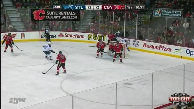 St. Louis Blues at Calgary Flames - 01/09/2014