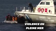 En Grèce, ces gardes-côtes indignent en tentant de couler un bateau de migrants