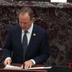 Rep. Adam Schiff Invokes Alexander Hamilton as Opening Arguments at Trump's Impeachment Trial Begin