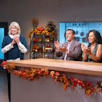 Martha Stewart helps Macy's Thanksgiving Cake Spectacular contestants find inspiration