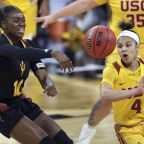 Jenkins, Rogers lead USC women past ASU in Pac 12 1st round