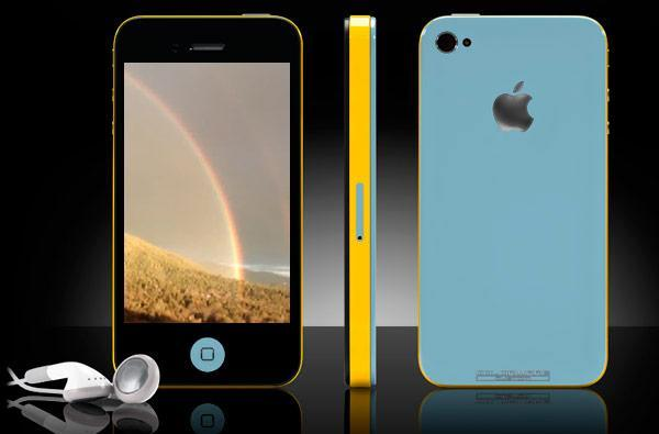 Colorware douses iPhone 4 in double rainbow, might just solve your reception issues