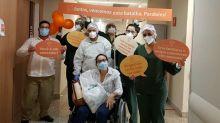 Visitas virtuais e corredor de aplausos: hospitais investem no acolhimento de pacientes internados com Covid-19