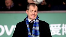 Alastair Campbell performs bagpipes rendition of Three Lions on 'GMB'