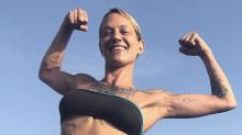 Asia Argento, 43, flexes in bikini photo as she returns to social media: 'I'm back, stronger than before'