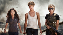 'Terminator' First Look: Linda Hamilton is back (and shredded!) as she teams with franchise's new badass women