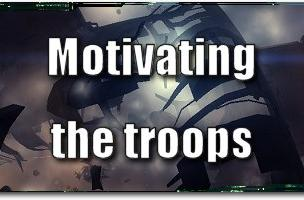 EVE Evolved: Motivating the troops