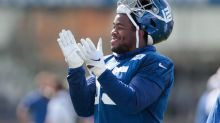 Giants' B.J. Hill says he could definitely beat Eli Manning in basketball