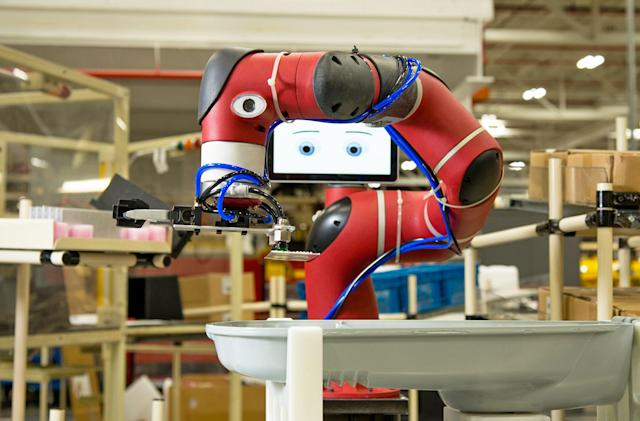 Rethink's workplace robot is now smarter and easier to train