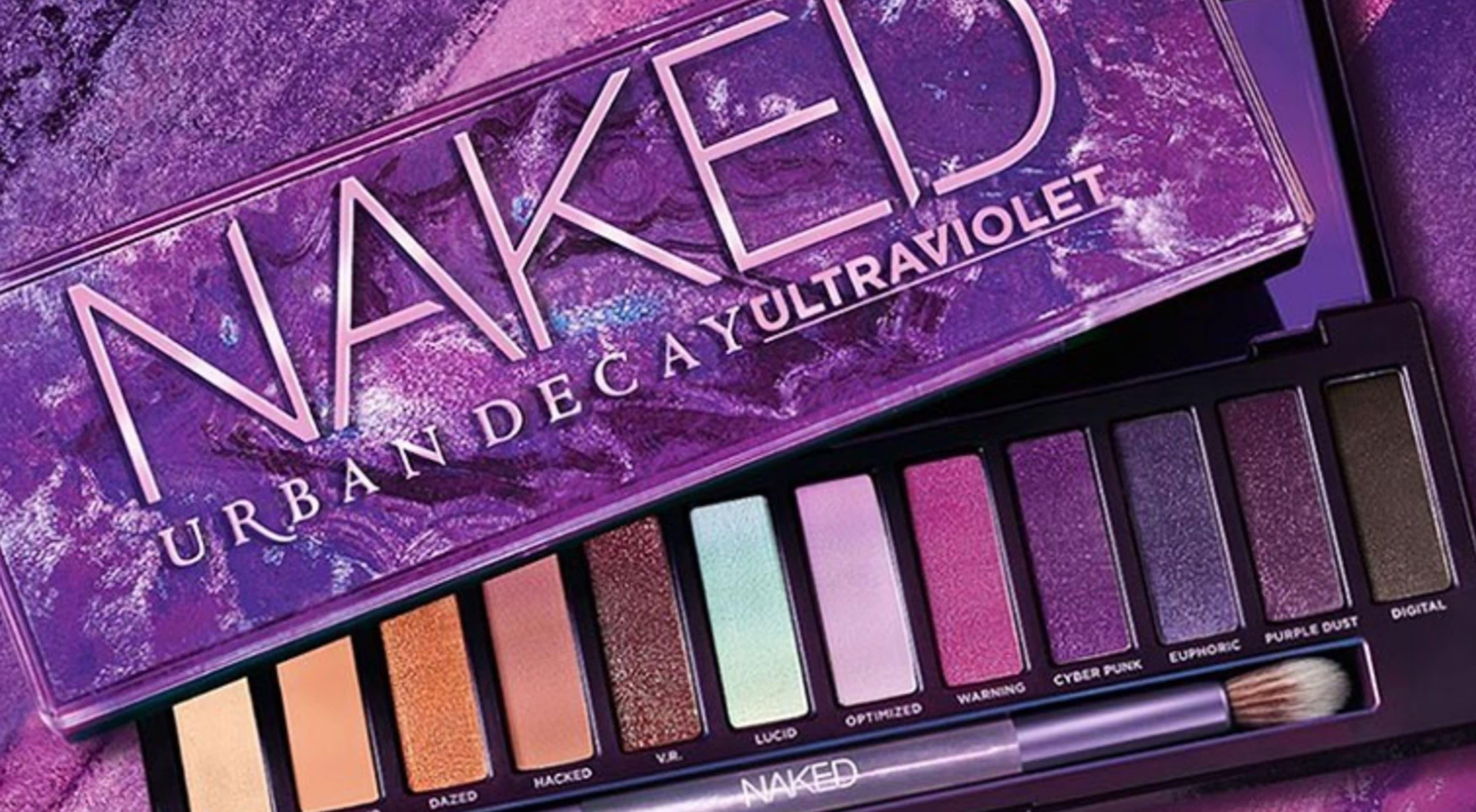 Sneak Peek! Urban Decay Naked Ultraviolet Eyeshadow