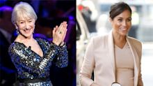Helen Mirren praises Meghan Markle for 'admirable' handling of royal fame