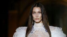 Bella Hadid schindet in Paris als Mörderbraut mächtig Eindruck