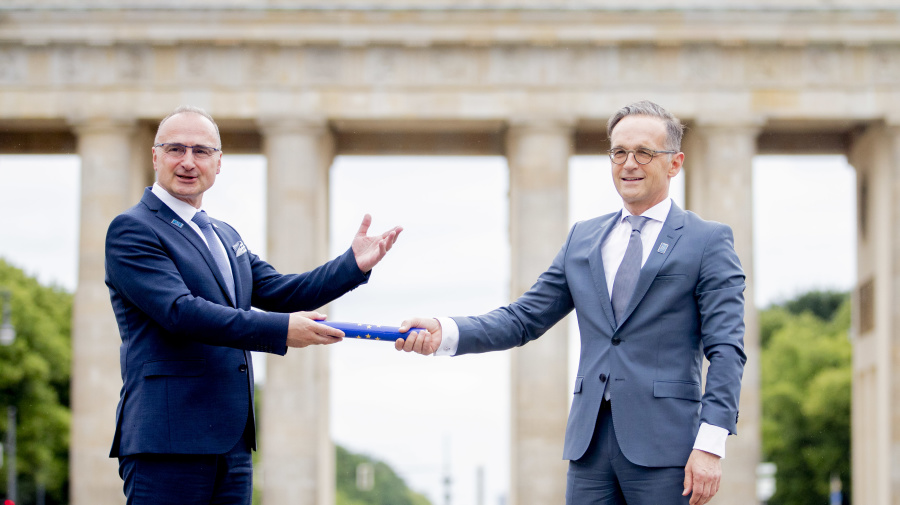 Brexit deal and coronavirus recovery dominate Germany's EU presidency
