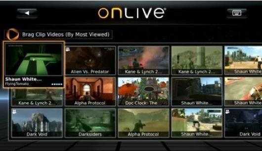 OnLive iPad app now available, but doesn't support gameplay streaming yet