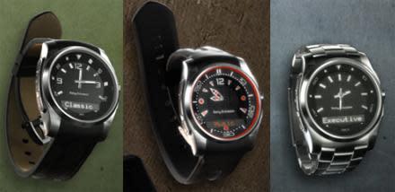 Sony Ericsson's new MBW-150 Bluetooth watch rocks AVRCP