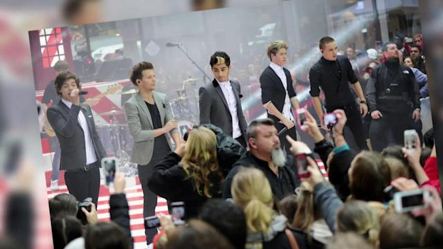 One Direction Score Second Number One Album in US