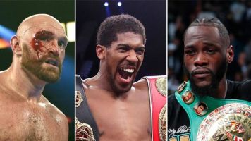 Joshua: Wilder and Fury fights 'have to happen in 2020'
