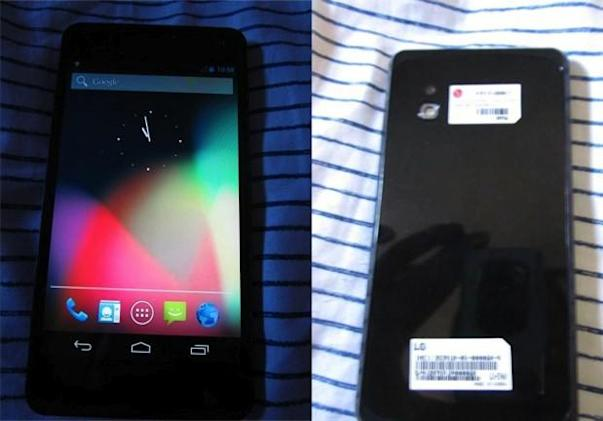 LG E960 Mako surfaces in photos, may be the future Nexus phone (update)