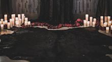 This Halloween Wedding Shoot Is a Gothic Fairy Tale Come to Life -Complete With Live Snake!