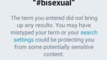 Por qué Twitter ha bloqueado las búsquedas de fotos del hashtag #bisexual