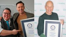 Hugh Jackman and Patrick Stewart honoured with Guinness World Records for X-Men roles