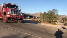 Procession Held for California Firefighter Killed Battling Thomas Fire