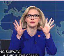 Kate McKinnon Kills On 'Weekend Update' As A Not-Very-Winning Liz Cheney