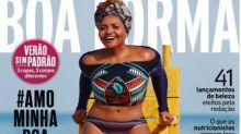 Após sofrer ataques racistas, Gaby Amarantos celebra capa de revista: 'Sonho'