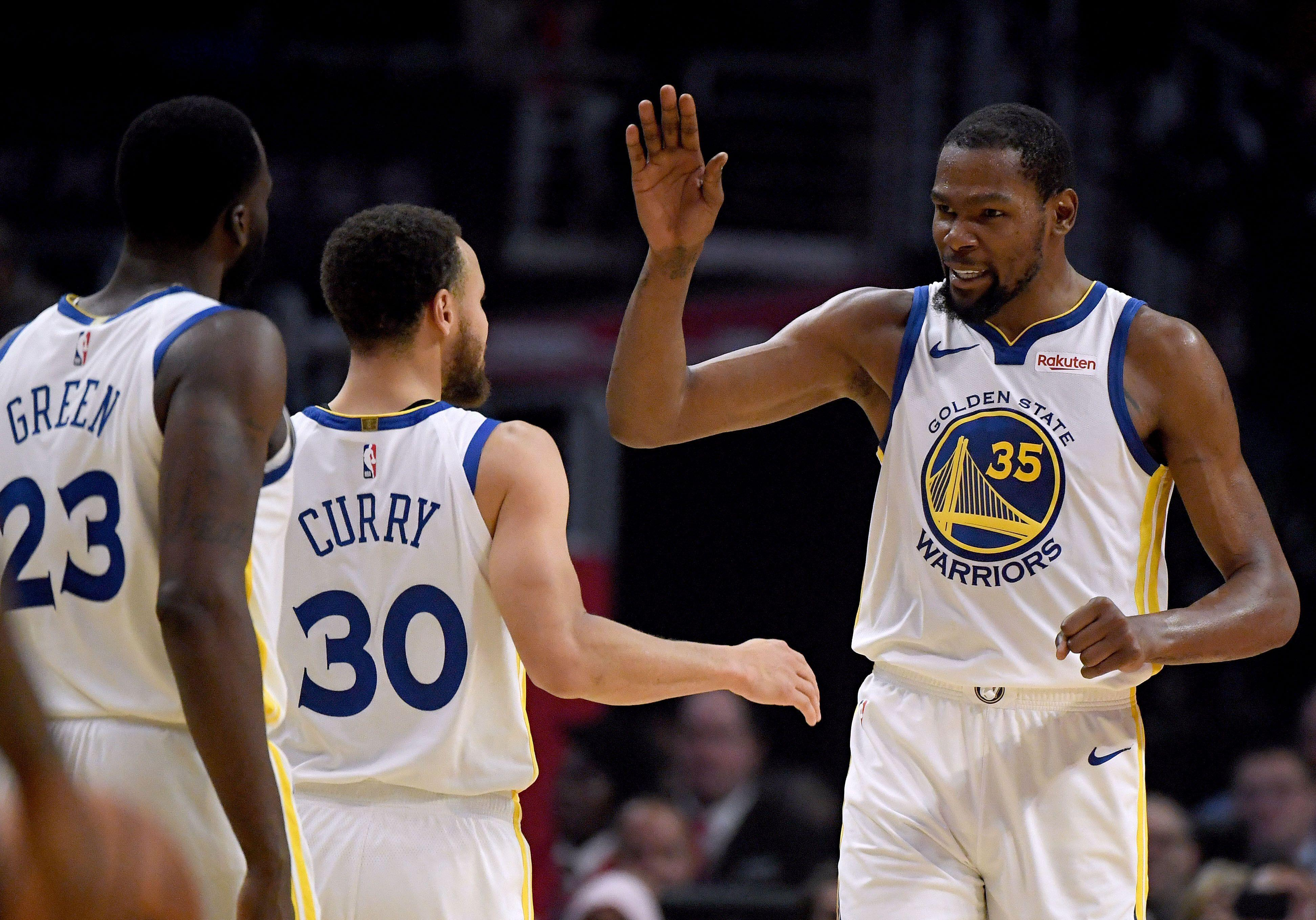 a323f39cbff0 Kevin Durant leads Warriors past Clippers in Game 6