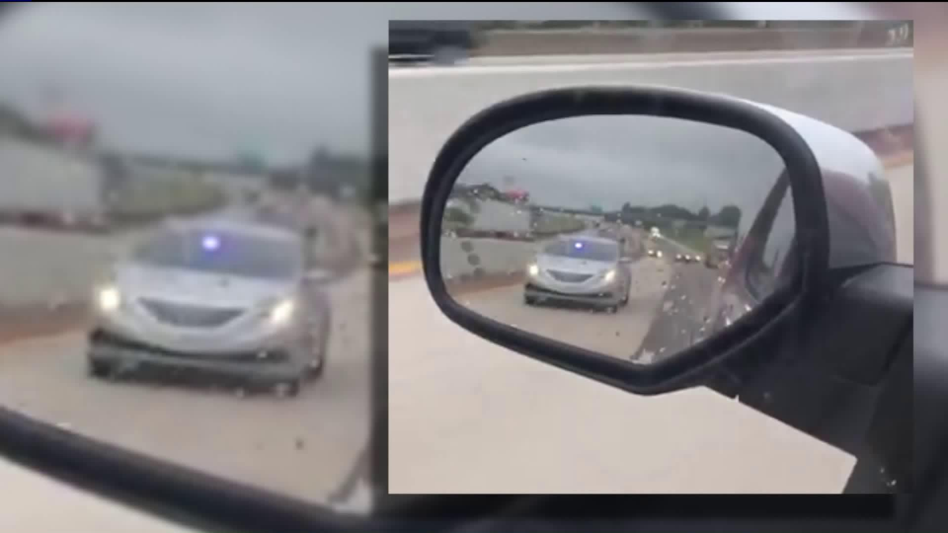 Man in Fake Police Car Arrested by Real Police Officers