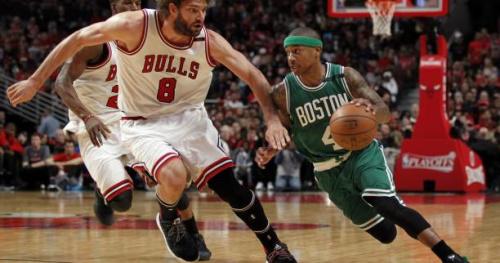 Basket - NBA - Les Boston Celtics remportent leur première victoire des play-offs chez les Chicago Bulls et réduisent l'écart dans la série