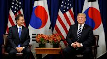 Trump jokes about 'deplorable' North Korea