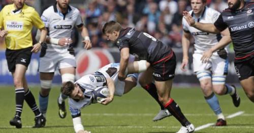 Rugby - CE - Coupe d'Europe : Les Saracens ont dominé Glasgow en quart de finale