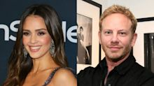 Jessica Alba's 90210 'no eye contact' claims 'stupidest thing I've ever heard' says co-star Ian Ziering