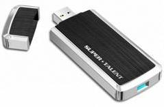 Super Talent USB 3.0 RAIDDrive nabs an extra 55MB/sec