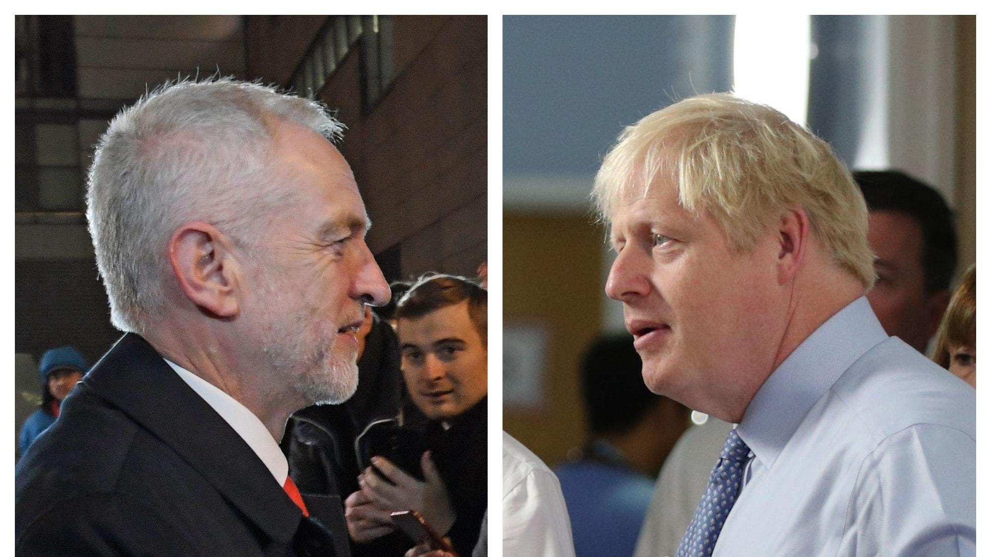 Election Live: Johnson and Corbyn head to head in TV debate