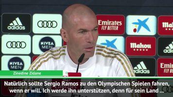 Olympische Spiele: Zidane steht hinter Ramos
