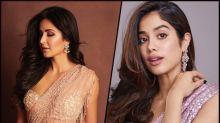 Katrina Kaif Or Janhvi Kapoor, Who Looked More Glamourous In The Sparkling Sari?