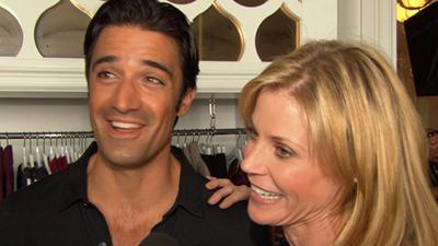 Behind The Scenes With Julie Bowen And Gilles Marini On 'Modern Family'