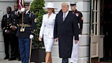 Donald Trump didn't get Melania a birthday present because he was 'too busy'