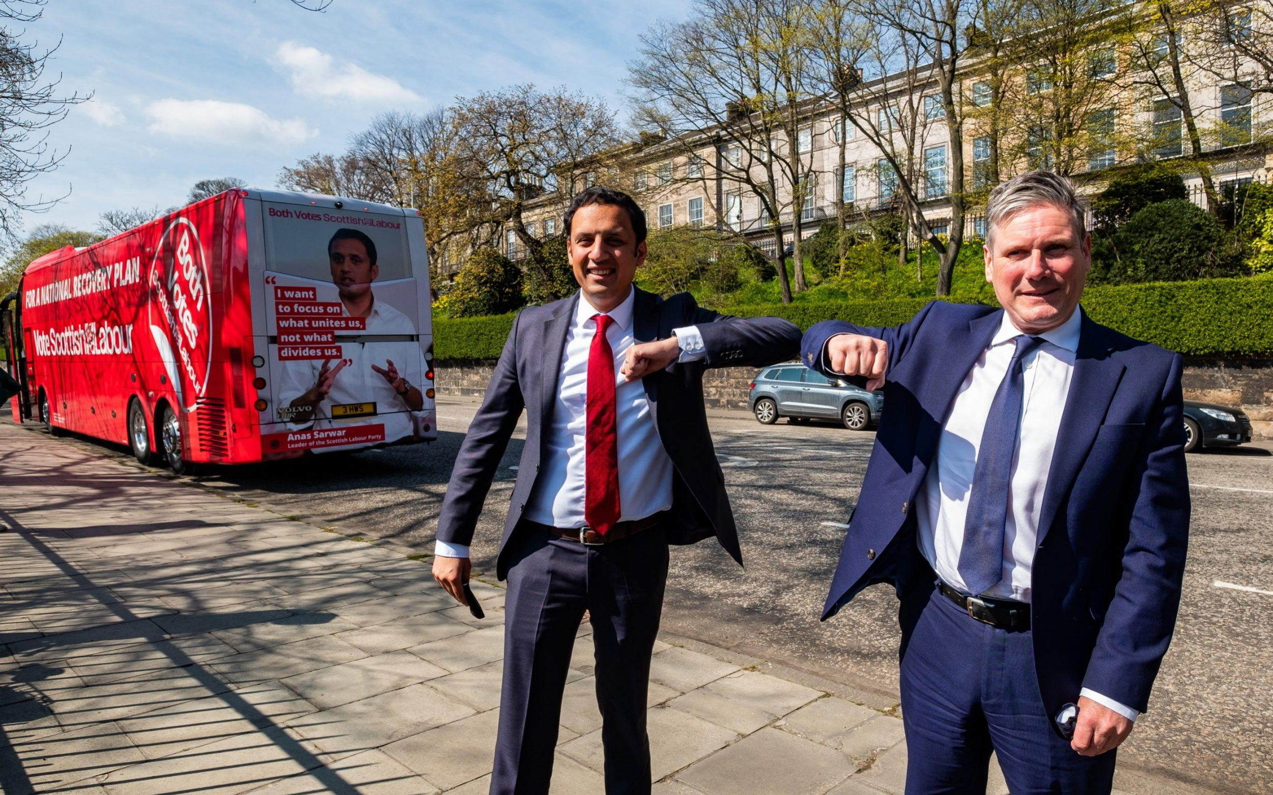 Labour accused of refusing to rule out second Scottish independence referendum