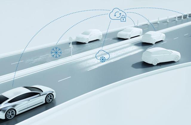 Bosch launches road condition alert service for self-driving vehicles