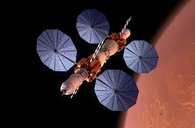 Lockheed Martin unveils Mars space station and surface lander