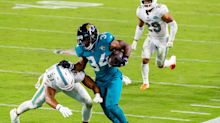Jaguars activate RB Chris Thompson off COVID-19 list; release FB Bruce Miller